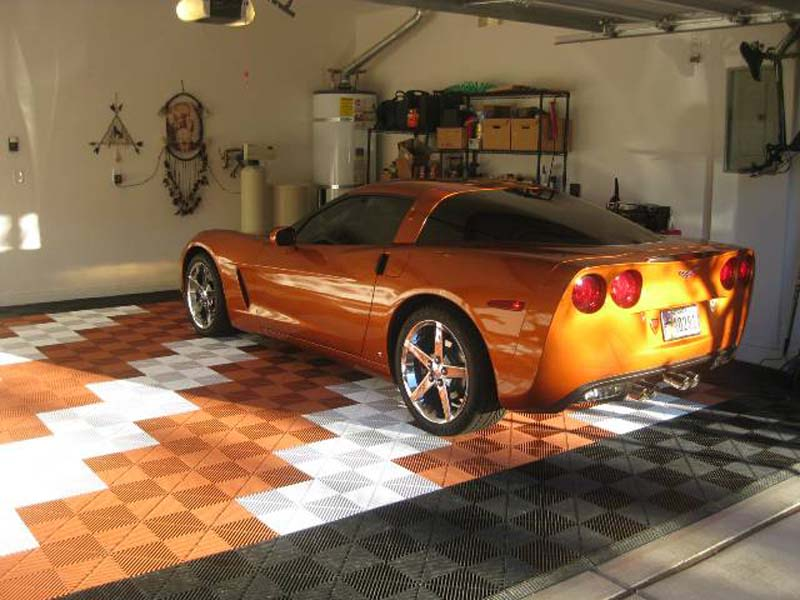 The Copper Corvette Garage: Ribtrax (Jet Black, Arctic White, Terra Cotta)