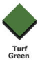 Swisstrax Ribtrax Edge - Turf Green