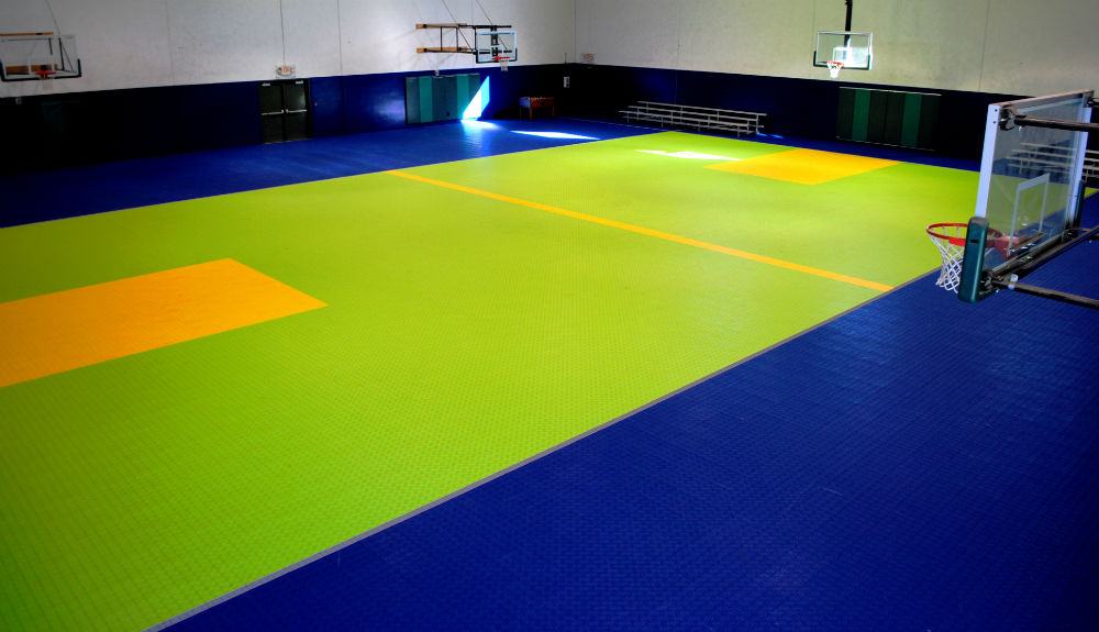 Swisstrax Sportrax gym basketball court